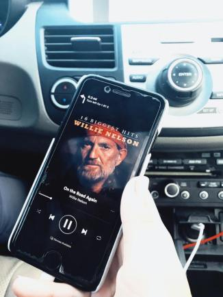 No road trip is complete without Willie Nelson...